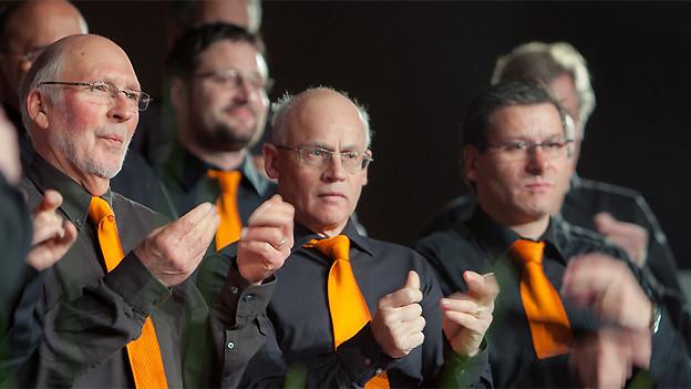 Bündner Männerchor «Chor viril Laax».