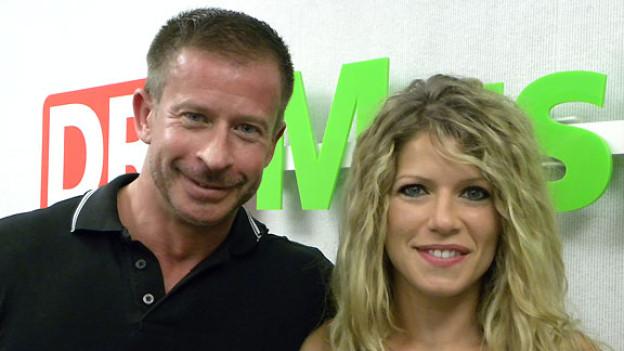 Melanie Jaeger zu Gast bei Leonard in der Hit-Welle.