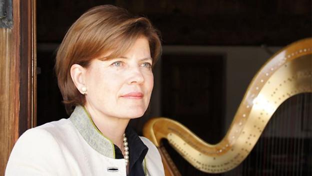 Harfenistin und Märchen-Erzählerin Inga-Lisa Jansen.