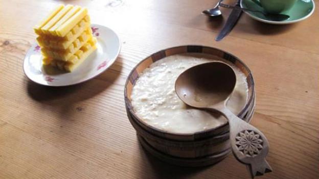 Nidle, Milch und Käse sind die Spezialität beim «Suufsunntig».