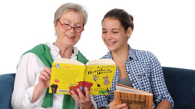 Das gibt es nicht alle Tage, dass Kinder und Senioren dieselben Bücher lesen, beurteilen, darüber diskutieren und gemeinsam das Lieblingsbuch bestimmen.