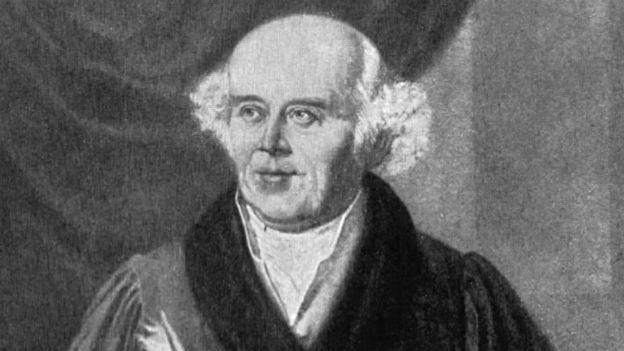 Samuel Hahnemann: Begründer der Homöopathie.