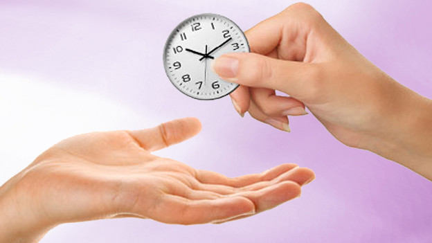 Zeit selber ist zwar unbezahlbar, aber man kann sie verschenken.