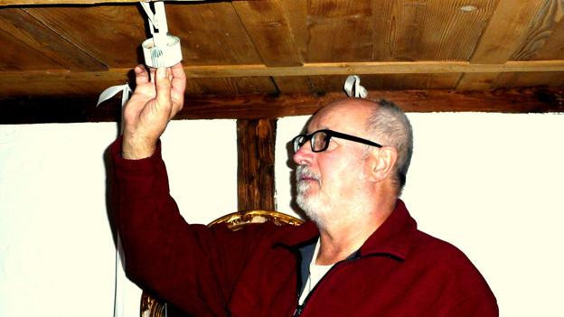 Walter Vogelsanger ist als ehemaliger Elektroinstallateur ein gefragter Zeittauschbörsianer.