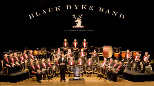 Die Black Dyke Band ist eine von fünf Formationen, die bei «Potzmusig live» im Rahmen des World Band Festivals zu hören sind.