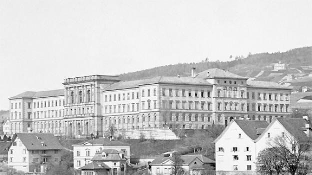 Die Eidgenössische Technische Hochschule Zürich 1880.