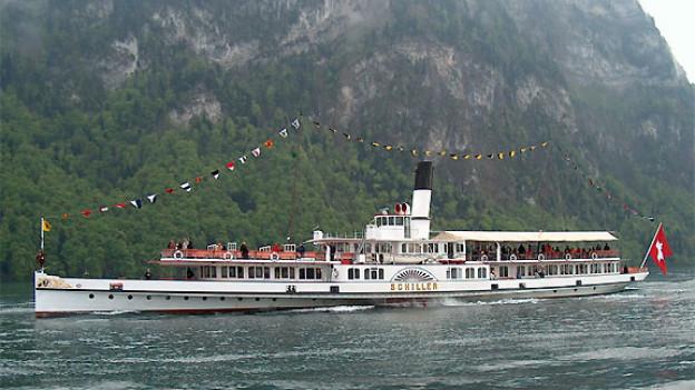 Das Dampfschiff «Schiller» 2004.