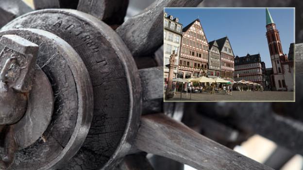 Eine der Postkutschen der Sternfahrt im Rousseau-Jahr 1962 nahm ihren Weg in die Schweiz ab Frankfurt am Main unter die Räder.