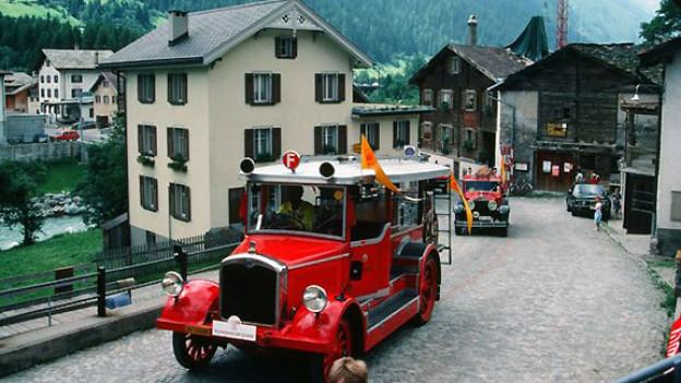 «Helene» mit Jahrgang 1909 ist heute im Technorama Winterthur zu Hause. Auf dem «FüürWehrCher» 1987 ging der «alten Dame» bereits nach zwei Stunden die Puste aus. Nach einer Verschnaufpause und einer kleinen Reparatur war sie kurz darauf wieder fahrtüchtig.