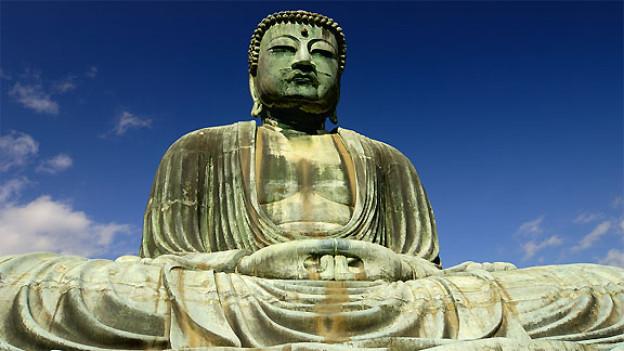 Daibutsu heisst übersetzt «Grosser Buddha». Diese gigantische Figur thront in der japanischen Stadt Kamakura.