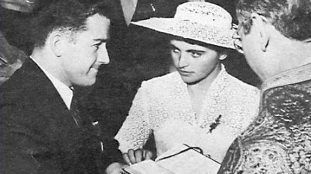 Liebe kennt keine Grenzen - Hal Connolly heiratet seine Angebetete Olga Fikotová.