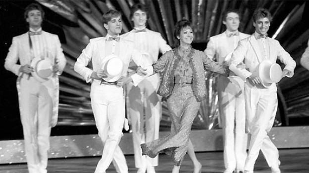 Caterina Valente am 13. November 1984 in der Revue «Variete, Variete» im Berliner Friedrichstadtpalast.