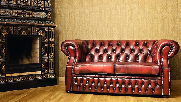 Im gemütlichen Wohnzimmer liess sich gut über alte Zeiten plaudern.