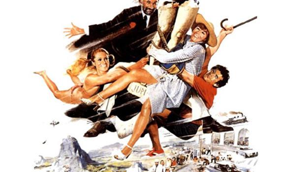 Das Filmplakat zu «On a volé la cuisse de Jupiter».