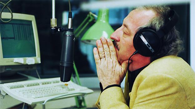 Roland Jeanneret im Studio Bern (2000).