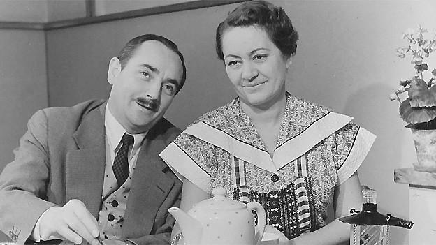 Ruedi Walter und Margrit Rainer.