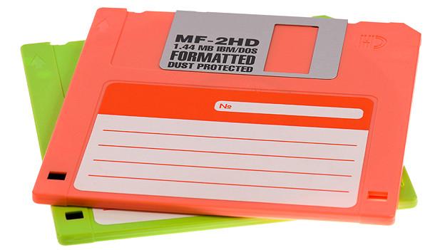 Das waren noch Zeiten, als Computerprogramme noch mittel Diskette installiert und gestartet werden mussten!