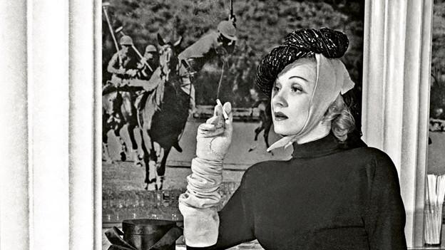Marlene Dietrich war der erste offizielle deutsche Hollywood-Star.