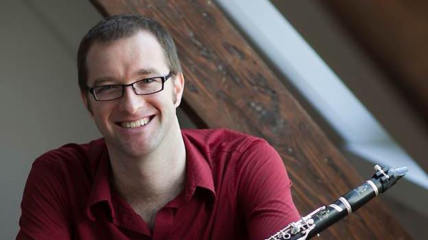 Andreas Ambühl spielt seit knapp 30 Jahren Klarinette.