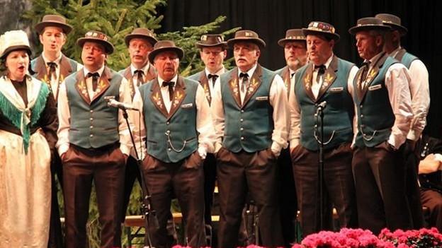 Der Jodlerklub Hasle-Rüegsau ist in der «Fiirabigmusig» mit dem Lied «Nöis Läbe» zu hören.