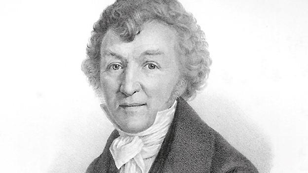 Ferdinand Fürchtegott Huber lebte von 1791-1863.