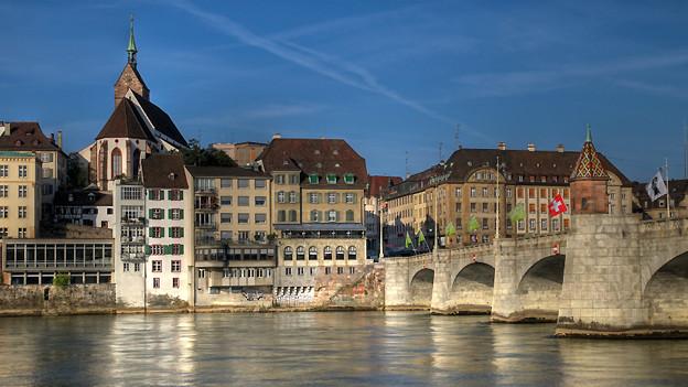 Der Rhein in Basel.