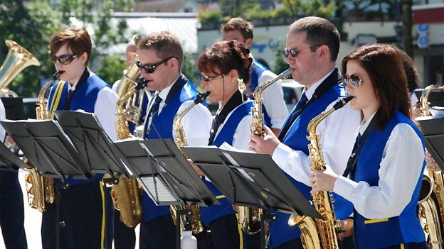 Saxophonregister des Musikvereins Harmonie Adliswil.