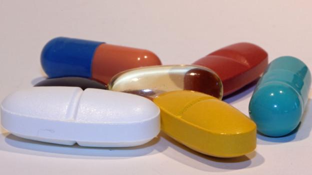 Tabletten darf man nicht wahllos kombinieren.