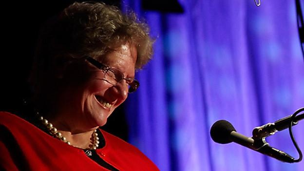 Schriftstellerin Elisabeth Zurbrügg.