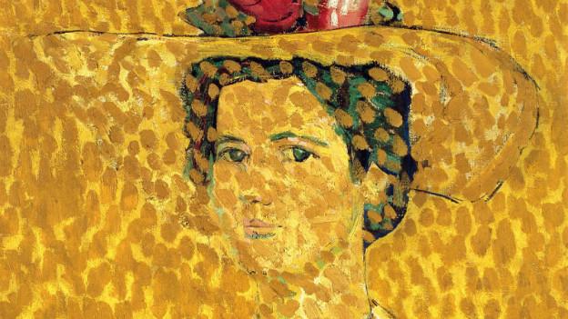 «Dame mit Hut» von Cuno Amiet - zu sehen an der 19.Kunstausstellung Trubschachen.