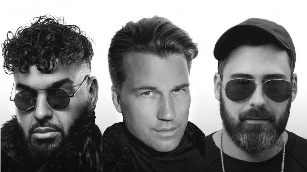 DJ Antoine, Sido und Moe Phonix