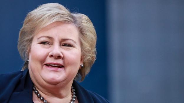 Die konservative norwegische Ministerpräsidentin Erna Solberg will eine Verschärfung des Abtreibungsrechts.