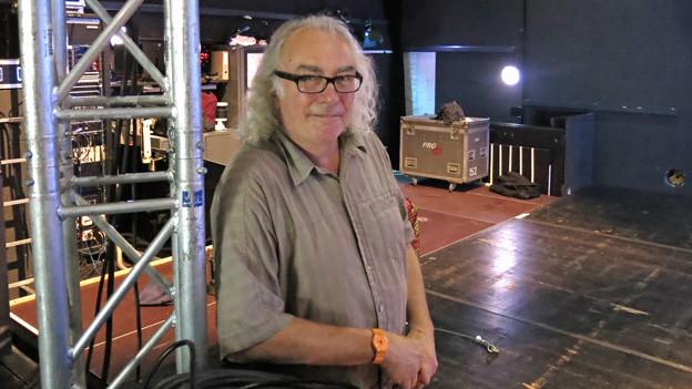Mark Waldispühl ist Stagemanager am Luzerner Blue Balls.