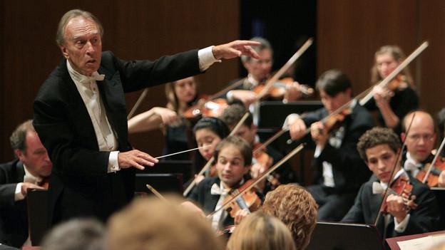 Das Festival wird am Freitag unter der Leitung von Claudio Abbado eröffnet