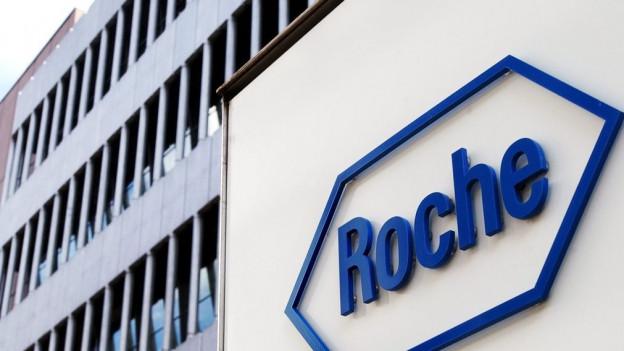 Das Firmenlogo von Roche
