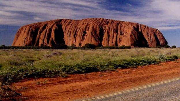 Eines der bekanntesten Wahrzeichen Australiens: der «Ayers Rock»