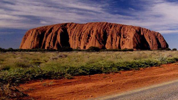 Der Ayers Rock, der wohl bekannteste Hügel Australiens