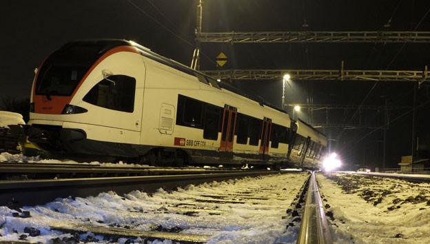 Warum es zur Kollision zwischen den beiden Zügen kam, wird derzeit untersucht