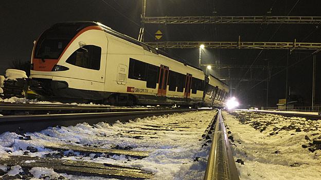 In Lenzburg fahren die Züge nach dem Bahnunfall wieder pünktlich