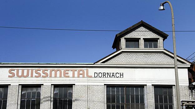 Die Swissmetal-Fabrik in Dornach gehört schon ab Januar 2013 einer Chinesischen Firma.