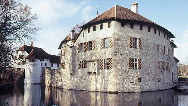Das Schloss Hallwyl am Hallwilersee ist Teil des Museums Aargau. Auch hier zDas Schloss Hallwyl am Hallwilersee ist Teil des Museums Aargau. Ein Publikumsmagnet, wie alle grossen Schlösser des Museum Aargau.