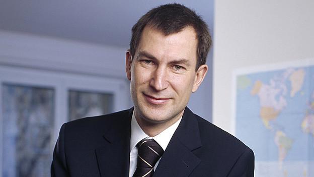 Martin Rohner, CEO der Alternativen Bank Schweiz, führt 80 Mitarbeitende.