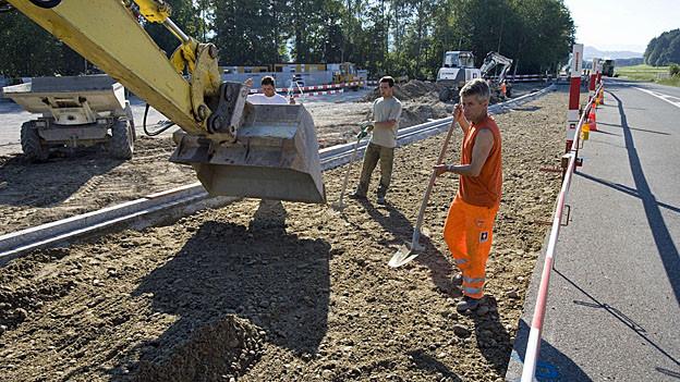 Alle Regionen profitieren von den Strassenbauinvestitionen des Kantons.