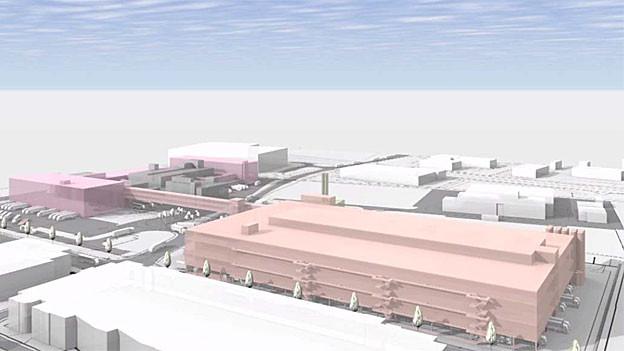 Das grosse Coop-Verteilzentrum soll Schafisheim mehr Einwohner bringen und langfristig 6000 Arbeitsplätze.