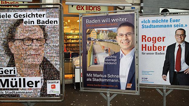 Die Badener CVP überelgt, entgegen einer Abmachung, ihren Kandidaten für den 2. Wahlgang anzumelden.
