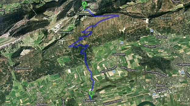 Die Kinder der Familie Räuftlin müssen jeden Tag 13 Kilometer nach Selzach runter in die Schule fahren.
