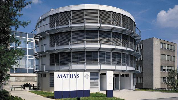 Der Hauptsitz der Firma Mathys in Bettlach.