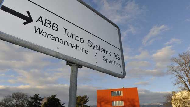 Das ABB-Werk der Abteilung Turbo Systems in Deitingen. Die ABB macht Turbolader für grosse Schiffsmotoren.