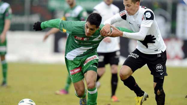 Aarau ringt St Gallen in der Verlängerung nieder