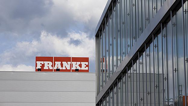 «Franke» verkauft von Aarburg aus Küchen in die ganze Welt. Macht Franke weniger Gewinn, spührt dies Aarburg finanziell